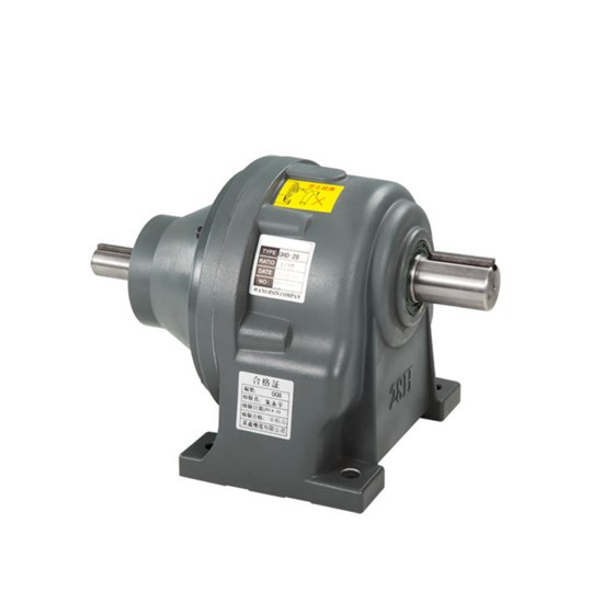 GHD DOUBLE SHAFT REDUCER